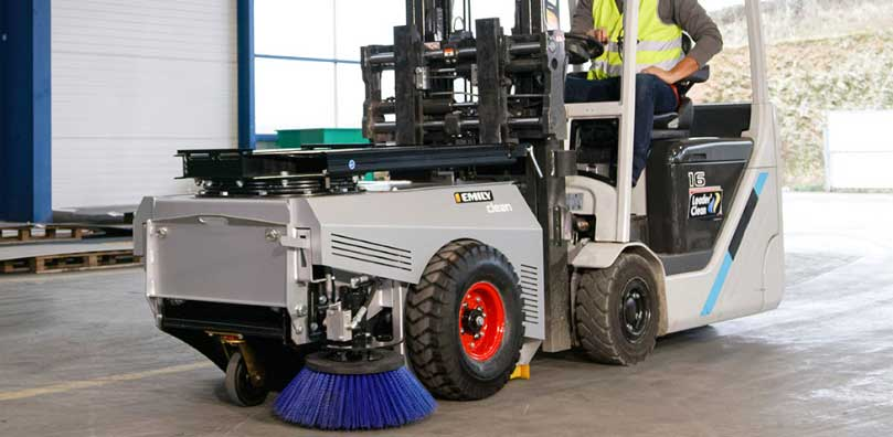 cleanbox for sweeper